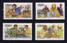 Ciskei - 1985 - Small Businesses - MNH - Ciskei