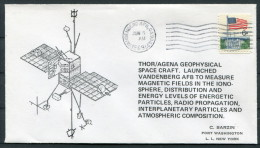 1969 USA Vandenberg THOR Space Rocket Cover - Covers & Documents