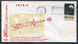 1971 USA Vandenberg ISIS 2 Space Rocket Cover - Covers & Documents