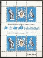 FAMILIAS REALES - MAURICIO 1978 - Yvert #469/71 (Minipliego) - MNH ** - Familias Reales