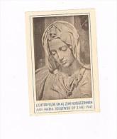 Lichtervelde En Al Zijn Huisgezinnen Aan Maria Toegewijd Op 3 Mei 1942 - Images Religieuses