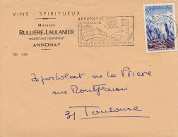 FRANCE  -   ANNONAY  -  Mongolfiera  -  Le Pont Valgelas - Ponti