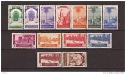 MA148STV-LFT3709TAN. Maroc Marocco  MARRUECOS ESPAÑOL VISTAS Y PAISAJES 1935-1937 (Ed 148/160**).sin Charnela - 1931-50 Nuevos & Fijasellos
