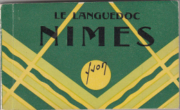 30 - Nimes - Carnet Complet 18 Cartes - Nîmes