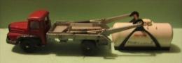 "Camion Unic Multibenne (avec Benne Et Citerne Primagaz"" / Dinky Toys N° 805,  échelle ? - Dinky"