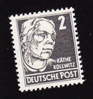 Germany Democratic Republic, Scott #122, Mint Hinged, Kathe Kollwitz, Issued 1953 - DDR