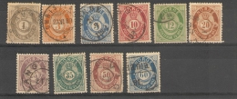 Norge _  Pstrim _ Série  22/31_  1872 - Norvège