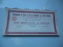 CERAMIQUES ET GRES DU DAUPHINE (saint Uze-drome) - Shareholdings