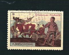 Q979 - VIGNETTE CHOCOLAT KLAUS - A MELCHTHAL - Unclassified