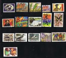 Zambie  16 Timbres Récents  Utilisés Postalement - Zambie (1965-...)