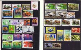 Zaïre Et Rép. Démocratique Du Congo 71 Timbres Récents  Utilisés Postalement - République Démocratique Du Congo (1997 -...)