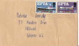 Great Britain 1967 European Free Trade  FDC  (Phos) - FDC