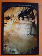 V09-35-ille Et Vilaine-grottes Petrifiantes -savonnieres--draperies-petrification-gours- - Altri Comuni