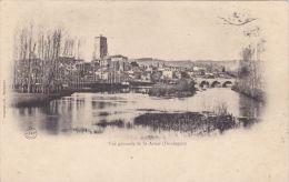 Cp , 24 , SAINT-ASTIER , Vue Générale - France