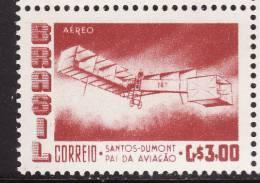 Brazil #C86Ab F-VF Mint NH ** 3cr Carmine - Airplanes