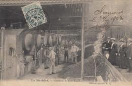 58 LA MACHINE  CHAUFFERIE DU PUITS ZAGATTREY - La Machine