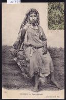 Tunisie : Jeune Bédouine Sur La Paille - Ca 1903 (12´789) - Tunisie