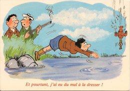 L13B.50 - Thème Chasse - Et Pourtant, J'ai Eu Du Mal à La Dresser!- LYNA N°859/4 - Illustrators & Photographers