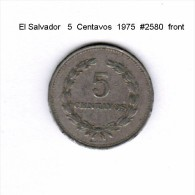 EL SALVADOR    5  CENTAVOS  1975   (KM # 149) - Salvador