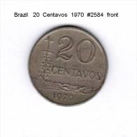 BRAZIL    20  CENTAVOS  1970   (KM # 579.2) - Brazil