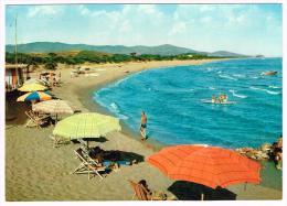 E2936 Castiglione Della Pescaia (Grosseto) - Spiaggia Delle Rocchette - Beach Plage Strand Playa / Non Viaggiata - Altre Città