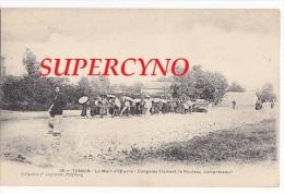 TONKIN N°16 LA MAIN D'OEUVRE CONGAIES TRAINANT LE ROULEAU COMPRESSEUR - Cartes Postales