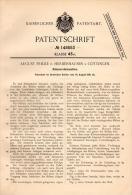 Original Patentschrift - A. Fricke In Herberhausen B. Göttingen , 1901, Rüben - Erntemaschine , Landwirtschaft !!! - Maschinen