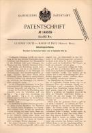 Original Patentschrift - G. Loute In Haine St. Paul , 1902 , Abteufungsverfahren , Zement , Hainaut !!! - Historische Dokumente