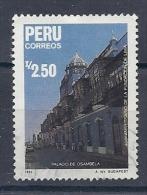 130604960  PERU  YVERT   Nº  870 - Peru