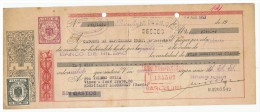 LETRA DE CAMBIO Años 50 Con Sellos Y Timbres - Banco De Bilbao - Banco Guipuzcuano - Letras De Cambio