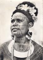 MISSION DE PAPOUASIE  JEUNE FILLE TATOUEE  (RORO) - Papouasie-Nouvelle-Guinée