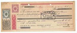LETRA DE CAMBIO Años 50 Con Sellos Y Timbres - Banco De Bilbao - Letras De Cambio