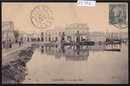 Tunisie - Bizerte : Le Vieux Port - Vers 1907, Vue Sur La Cie Tunisienne D'Alimentation Et Sur La Pharmacie (12´796) - Tunisie