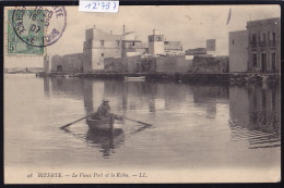 Tunisie - Bizerte : En Barque Dans Le Vieux Port, Avec Vue Sur La Ksiba - Vers 1907 (12´797) - Tunisie