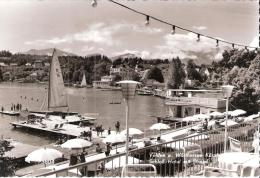 AK 717  Velden Am Wörthersee - Schlosshotel Mit Strand Um 1960 - Velden