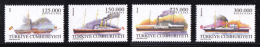 Turkey - 2000 - ( Merchant Ships ) - Complete Set - MNH (**) - 1921-... República