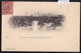 Tunisie - Kairouan :  Le Cimetière Et La Mosquée Du Barbier, Vers 1902 (12´805) - Tunisie
