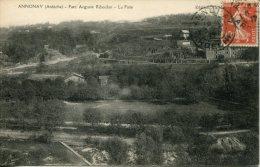CPA -  ANNONAY - PARC AUGUSTE RIBOULON - LA PISTE (RARE CLICHE) - Annonay