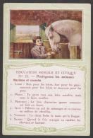 753 / N°15  Protégeons Les Animaux. - Bon Point Accordé à L'élève. - Chromos