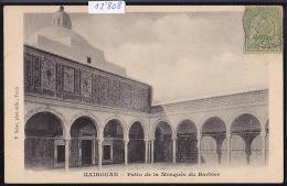 Tunisie - Kairouan : Patio De La Mosquée Du Barbier - Vers 1903 (12´808) - Tunisie
