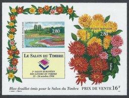 FRANCE - Bloc Du Salon Du Timbre 1994 RARE - Fleurs (II) - France