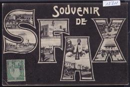 Tunisie - Sfax - Souvenir En Multivues - 1907 (12´811) - Tunisie