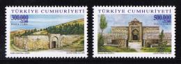 Turkey - 2001 - ( Caravansaries ) - Complete Set - MNH (**) - 1921-... República