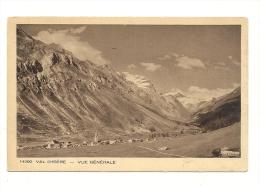 Cp, 73, Val D'Isère, Vue Générale, Publicité Au Verso : Hôtel De L'Iseran (Val D'Isère) - Val D'Isere