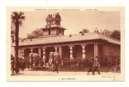 Cp, 75, Paris, Exposition Coloniale Internationale 1931 - Inde Française - Expositions