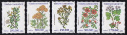 Turkey - 2001 - ( Medicinal Plants - Flowers ) - Complete Set - MNH (**) - 1921-... República