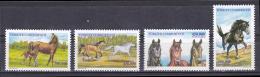 Turkey - 2001 - ( Fauna - Animals - Horses ) - Complete Set - MNH (**) - 1921-... República