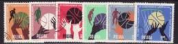 POLAND 1963 MICHEL NO: 1418-1423 USED /zx/ - Gebruikt