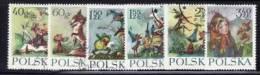 POLAND 1962 MICHEL NO: 1364-1369 USED /zx/ - Gebruikt