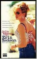 VHS Video  ,  Julia Robers Ist Erin Brockovich - Eine Wahre Geschichte   -  Von 2000 - Drama
